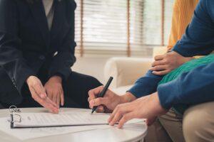 Underskrift av företagslån